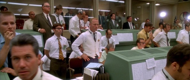 Tense moments at Mission Control in Houston with little to do but wait.