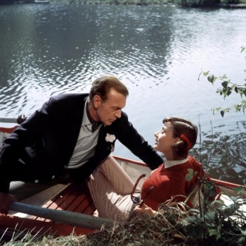 Color photography from the production of Love in the Afternoon illustrates, informs, and clarifies how Cooper and Hepburn dressed for their afternoon in the sun.