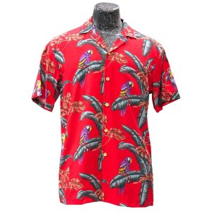 "The original ""jungle bird"" aloha shirt by Paradise Found, available from AlohaFunwear"