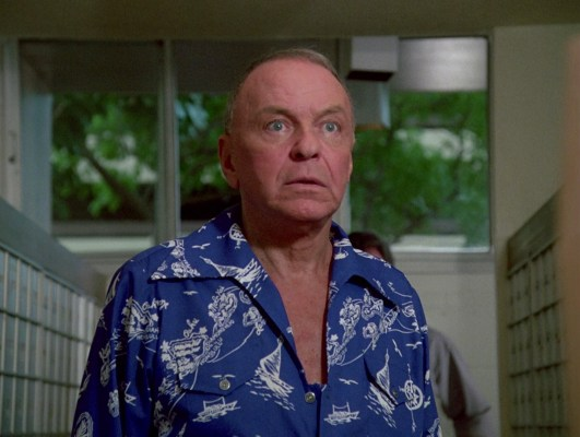 "While we're playing ""Guess that Hawaiian island on Doheny's shirt?"", Kenneth Geiger is getting away!"
