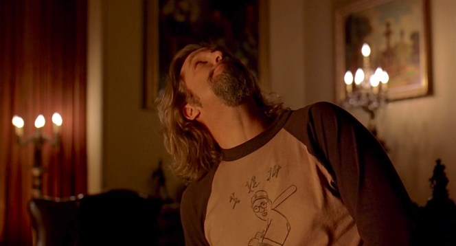 "The Dude checks out the ""Big"" Lebowski's digs."