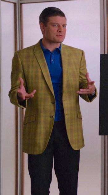 "Jay R. Ferguson as Stan Rizzo on Mad Men (Episode 5.06: ""Far Away Places"")"
