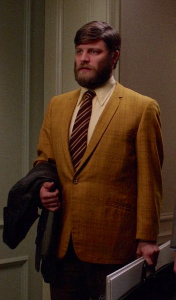 "Jay R. Ferguson as Stan Rizzo on Mad Men (Episode 6.04: ""To Have and To Hold"")"