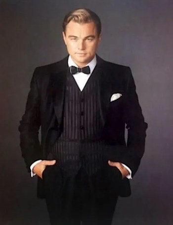 Leonardo DiCaprio in a promotional portrait for The Great Gatsby.