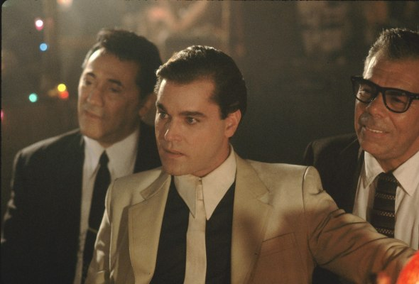 Production photo of Ray Liotta in Goodfellas.