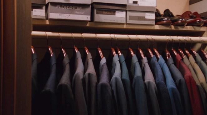 An enviable closet.