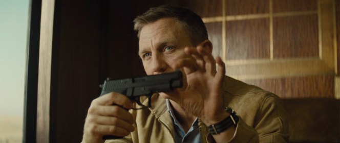 When there's no Major Boothroyd around, Bond has to dole out the firearms instructions himself.