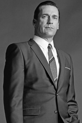 Jon Hamm as Don Draper in a promotional photo for season 6 of Mad Men