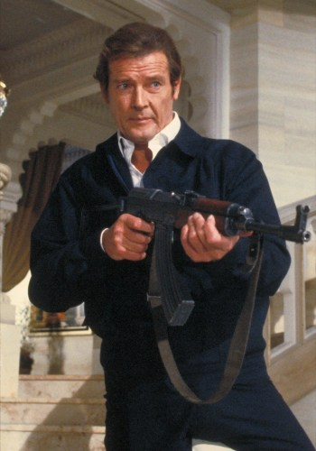 Roger Moore as James Bond in Octopussy (1983)
