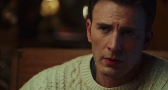 """Chris Evans as Hugh """"Ransom"""" Drysdale in Knives Out (2019)"""