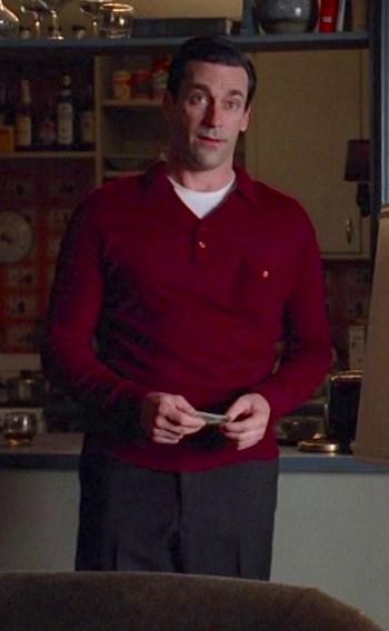 "Jon Hamm as Don Draper on Mad Men (Episode 4.01: ""Public Relations"")"