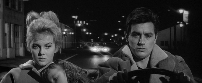 Ann-Margret and Alain Delon in Once a Thief (1965)