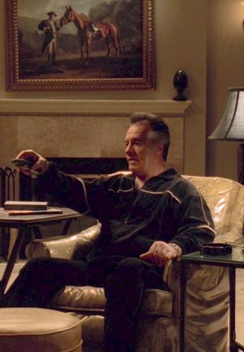 "Tony Sirico as ""Paulie Walnuts"" Gualtieri in ""The Strong, Silent Type"", the tenth episode of the fourth season of The Sopranos."