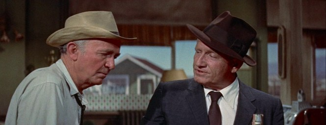Spencer Tracy in Bad Day at Black Rock (1955)
