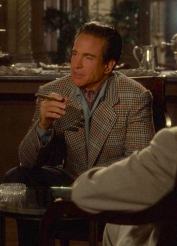 "Warren Beatty as Benjamin ""Bugsy"" Siegel in Bugsy (1991)"
