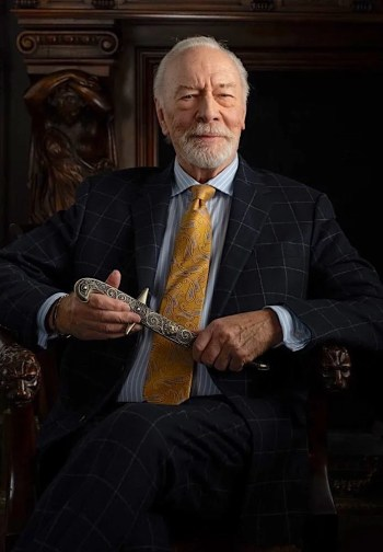 Christopher Plummer as Harlan Thrombey in Knives Out (2019)