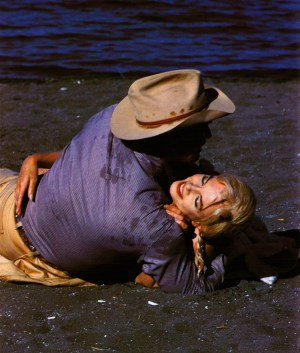 Clark Gable and Marilyn Monroe in The Misfits.