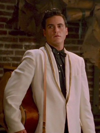 Joaquin Phoenix as Johnny Cash in Walk the Line (2005)