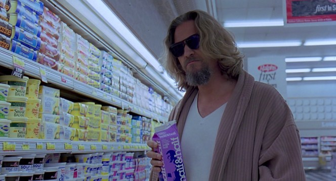 "Jeff Bridges as ""The Dude"" in The Big Lebowski (1998)"