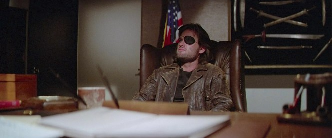 Kurt Russell as Snake Plissken in Escape from New York (1981)