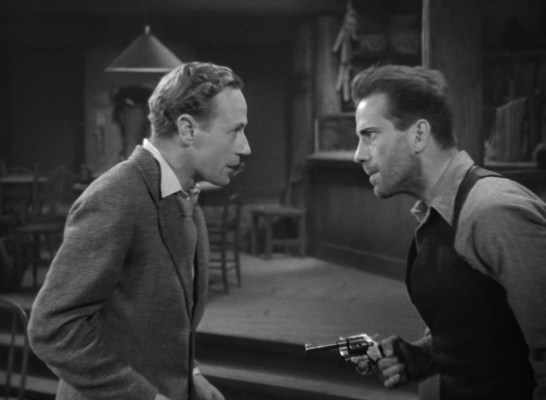 Leslie Howard and Humphrey Bogart in The Petrified Forest (1936)