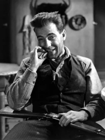 Humphrey Bogart as Duke Mantee in The Petrified Forest (1936)