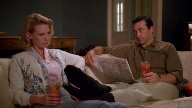 "Jon Hamm as Don Draper on Mad Men (Episode 2.04: ""Three Sundays"")"