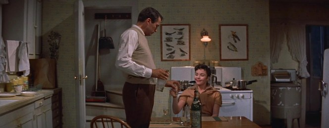 Gregory Peck and Jennifer Jones in The Man in the Gray Flannel Suit (1955)