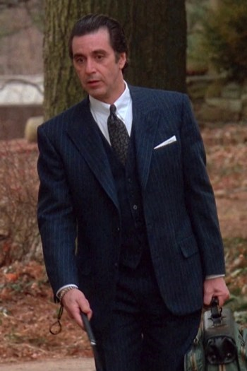 Al Pacino as Lt. Col. Frank Slade in Scent of a Woman (1992)