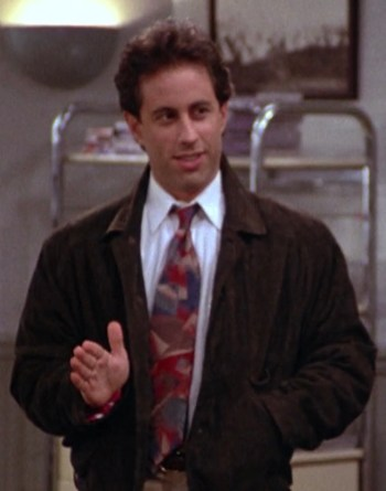 "Jerry Seinfeld on Seinfeld (Episode 2.03: ""The Jacket"")"