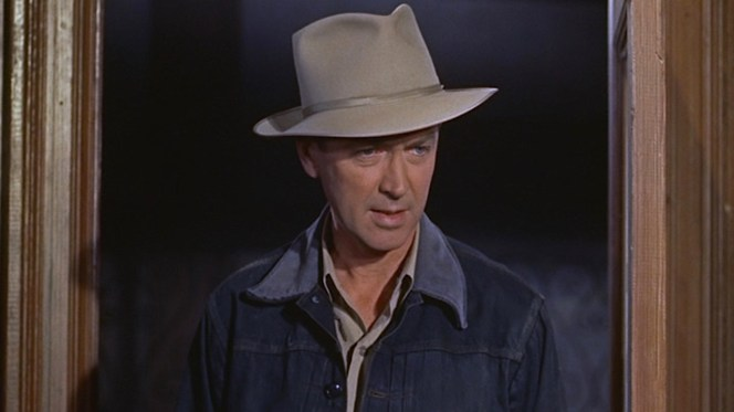 "James Stewart as agent John ""Chip"" Hardesty in The FBI Story (1959)"