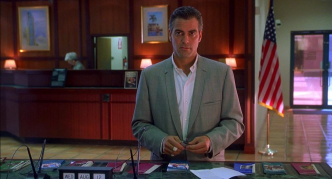 George Clooney in Out of Sight (1998)