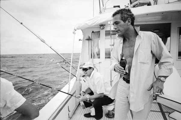 Paul Newman, photographed by Mark Kauffman, 1967.