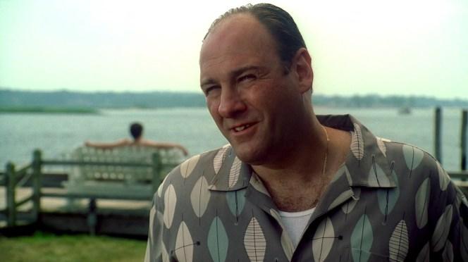 "James Gandolfini as Tony Soprano on The Sopranos (Episode 6.01: ""Members Only"")"
