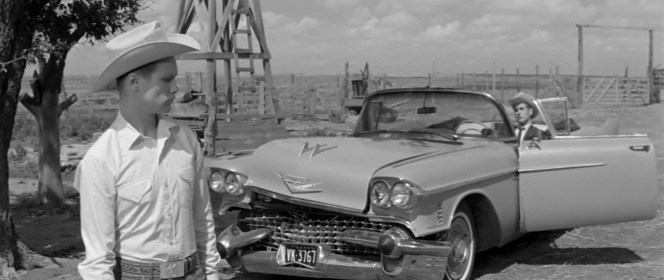 A 1958 Cadillac Series 62 in Hud (1963)