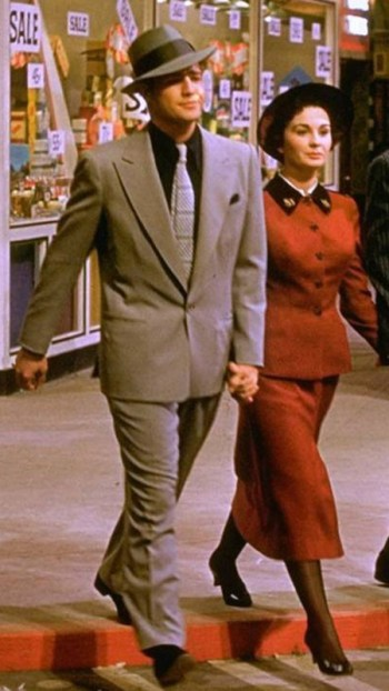 Marlon Brando and Jean Simmons in Guys and Dolls (1955)