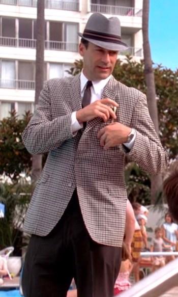 "Jon Hamm as Don Draper on Mad Men (Episode 4.13: ""Tomorrowland"")"