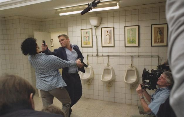 Daniel Craig and Doud Shah in Casino Royale (2006)
