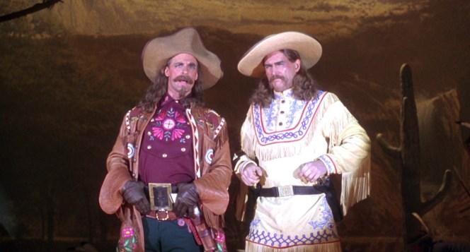 Keith Carradine and Jeff Bridges in Wild Bill (1995)