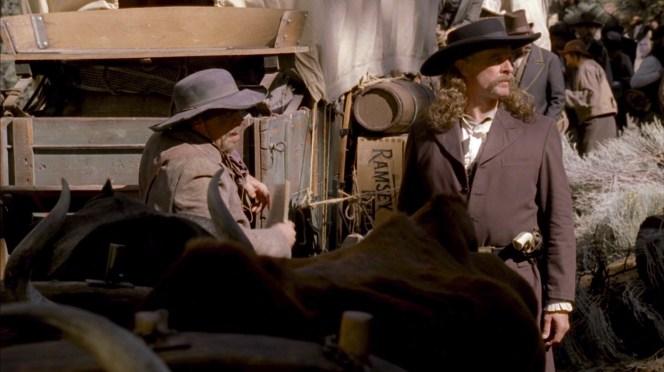 "Keith Carradine as ""Wild Bill"" Hickok on Deadwood"