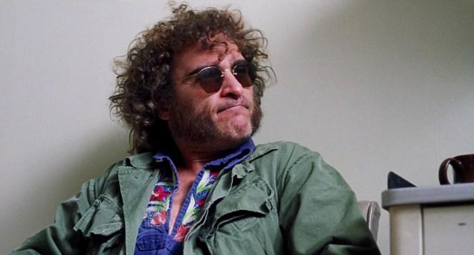 Joaquin Phoenix as Doc Sportello in Inherent Vice (2014)