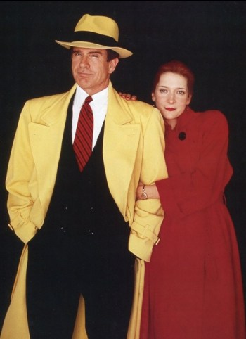 Warren Beatty and Glenne Headly in Dick Tracy (1990)