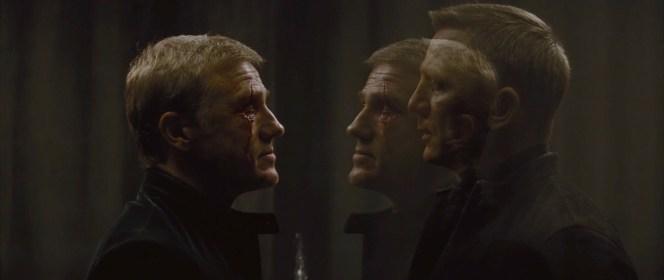 Christoph Waltz and Daniel Craig in Spectre (2015)
