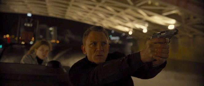Daniel Craig as James Bond in Spectre (2015)