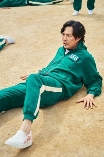 Lee Jung-jae as Seong Gi-hun in Squid Game