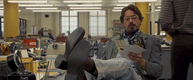 Robert Downey Jr. as Paul Avery in Zodiac (2007)