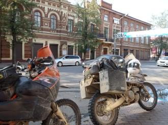 Arrived in Irkutsk.