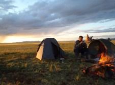 3rd campsite fire.