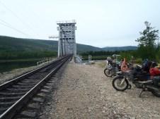 BAM first guarded railway bridge crossing.