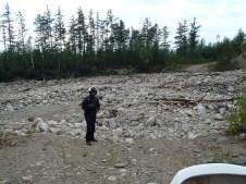 BAM boulder field.